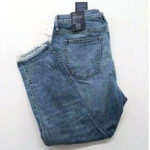 Gap Women's 18 High Rise Destructed Skinny Jeans